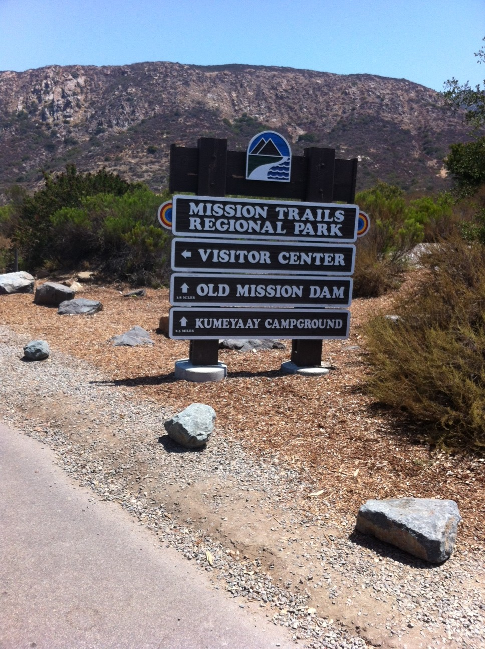 Fortuna Mountain Saddle, North and South Peaks:  Mission Trails Regional Park, Santee, CA