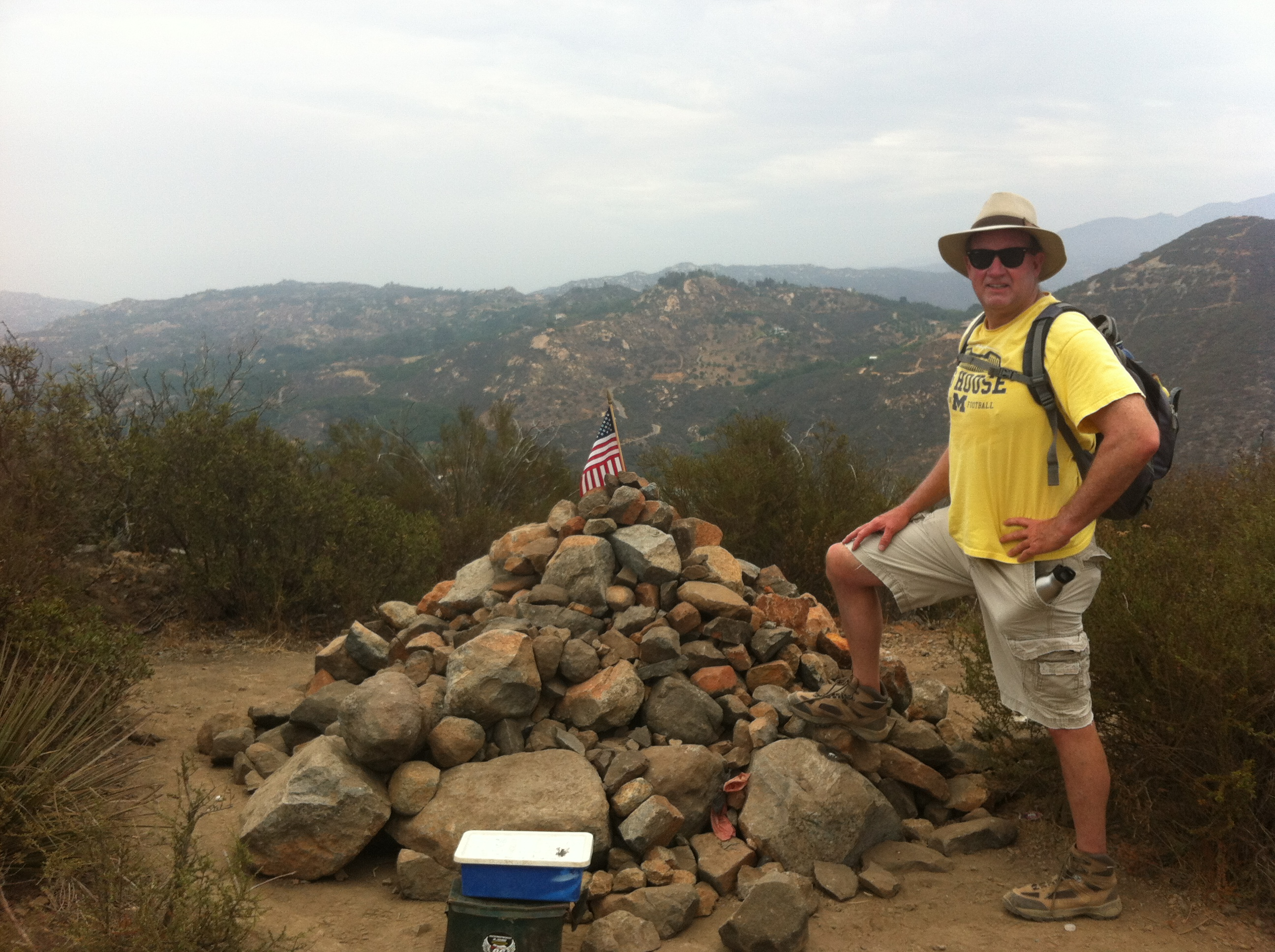 Summit of Monserate, Fallbrook